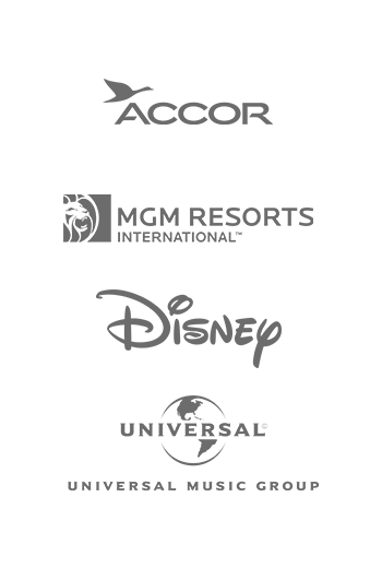 Accor, MGM Resorts, Disney, Universal Music Group